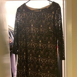 Ronni Nicole lace dress